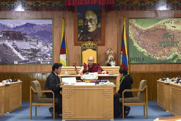 Speaker expressed the Tibetan parliament's firm commitment to the Middle Way Approach of the Central Tibetan Administration